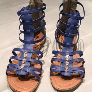 Brand new Blue sandals